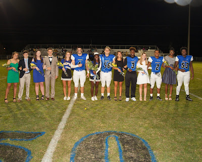 Montgomery Catholic Crowns 2017 Homecoming Queen and King 1