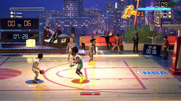 NBA Playgrounds - Hot 'N Frosty