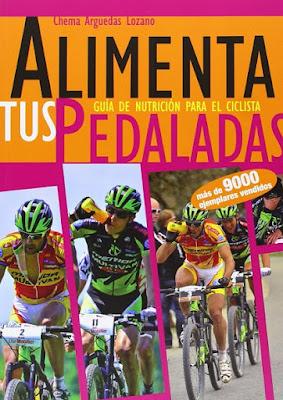 Regalos originales para ciclistas: Libro Alimenta tus pedaladas