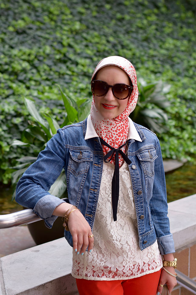Banana Republic Sloan Pants-Red Pants-Fashion Blog-Modest Fashion-Style Inspiration-Summer Style-Muslim Blogger-A Day In The Lalz-Fashion Blogger