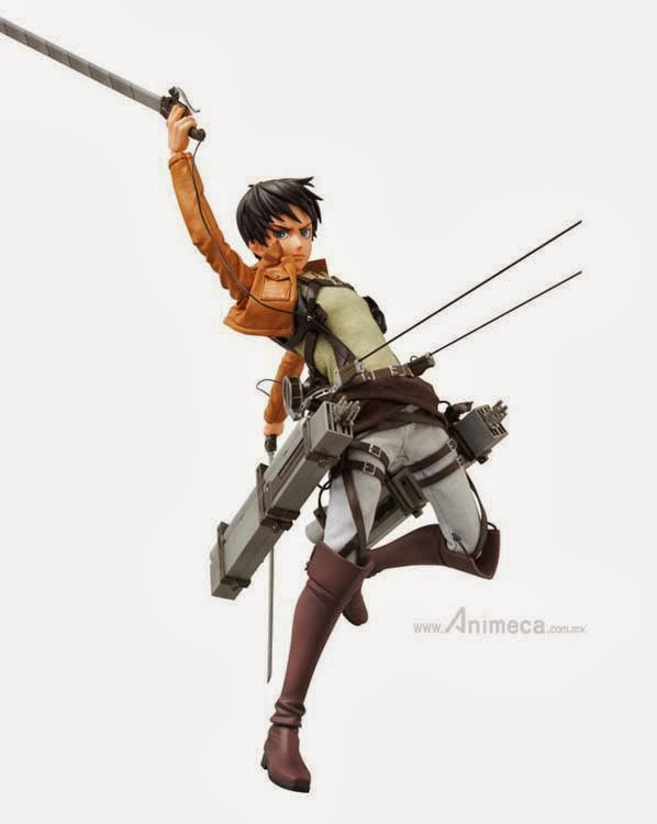 FIGURA EREN YEAGER REAL ACTION HEROES Shingeki no Kyojin
