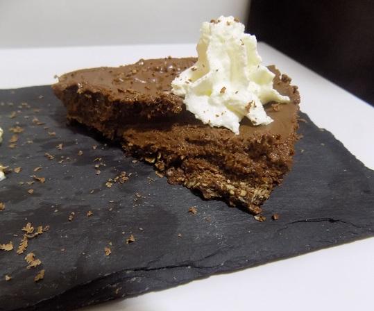 Tarta crocanti de chocolate