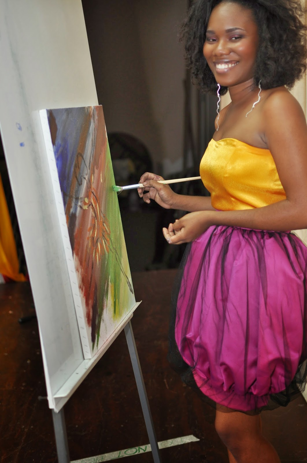 tying knot in jamaica wedding dresses jamaican wedding dresses The bride in Jamaica has found her wedding dress creating fairy godmother in Clay