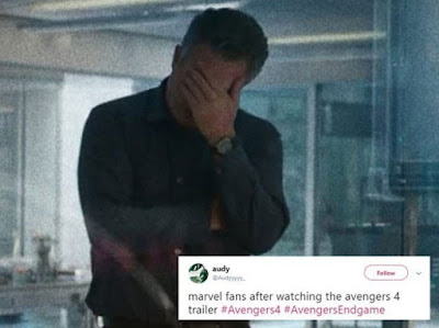 The best reactions to 'Avengers: End Game' trailer