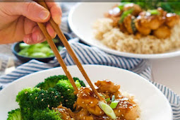 Healthy Honey Teriyaki Chicken Rice Bowls