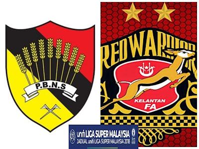 Live Streaming Negeri Sembilan vs Kelantan Liga Super 14 April 2018