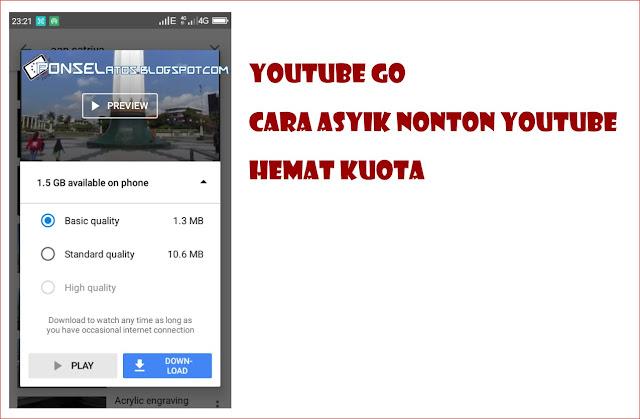 nonton youtube go hemat kuota