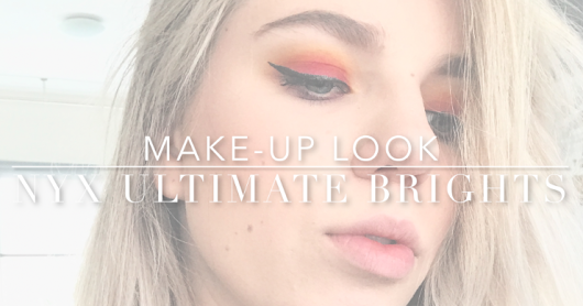 Make-up look: NYX Ultimate brights palette