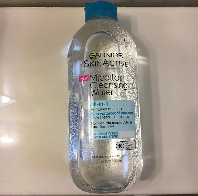 Garnier, Garnier SkinActive Micellar Cleansing Water, skincare, skin care, cleanser, cleansing