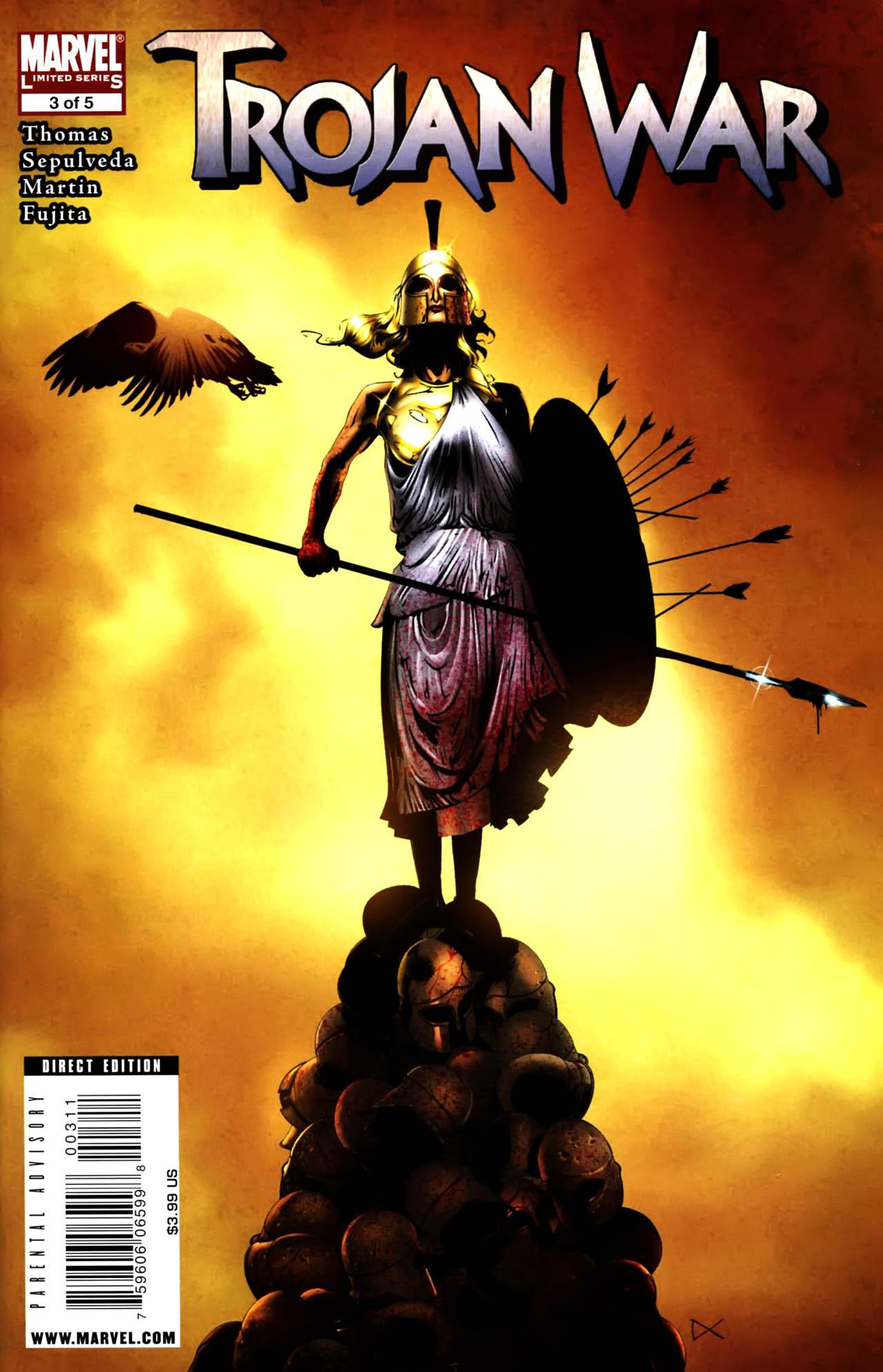 Read online Trojan War comic -  Issue #3 - 1