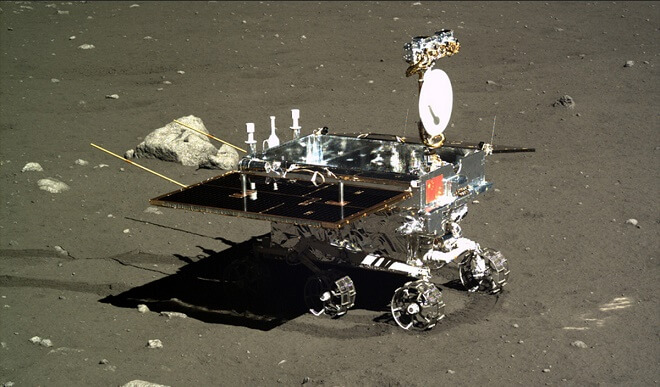 China's Lunar Rover Finds No Evidence Of American Moon Landings!