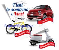 Logo Grande concorso 80° anniversario Svitol : vinci 105 Bici, 8 Lambretta V-Special e 1 Fiat 500 !