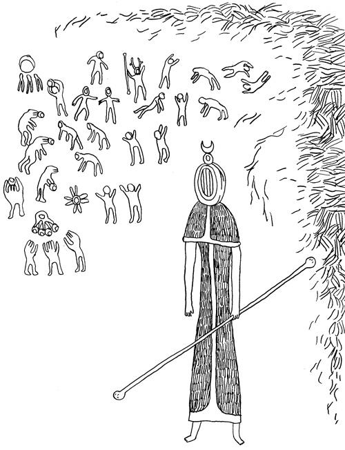 Le Chaudron Chromatique: Hyperborean Monk