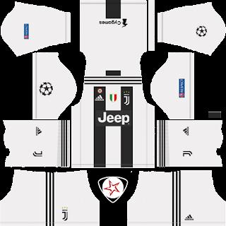 juventus 2018 2019 home kit