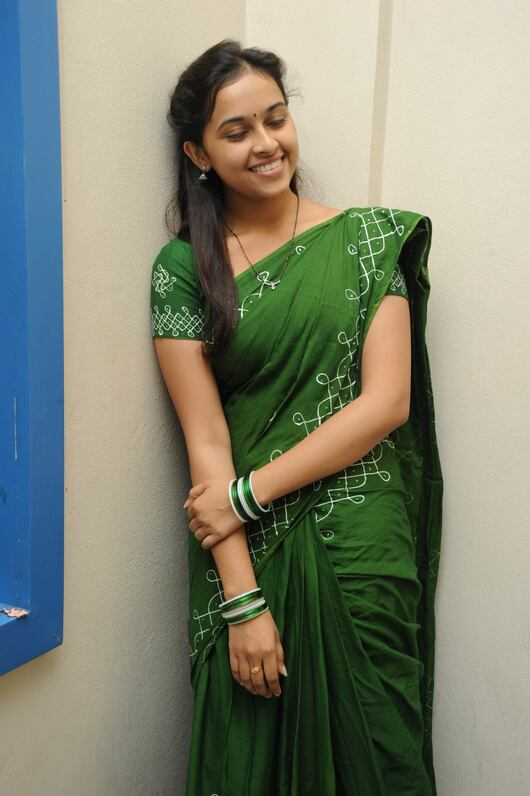 Sri Divya 05 - Actress Sri Divya's Hot & Spicy Images In Saree|Top 25-Spicy Photos|decide to go NO Glamour in Her Movies