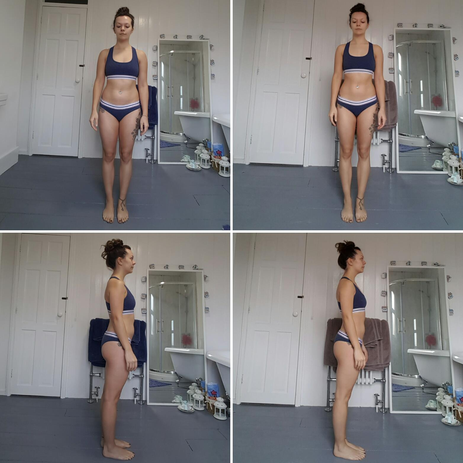 4 weeks fitness progress results with lucy