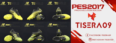 PES 2017 New Balance Limited Edition Pack by Tisera09