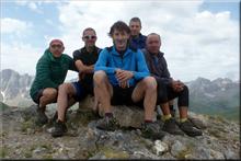 Punta Pazino mendiaren gailurra 1.965 m. - 2017ko ekainaren 25ean