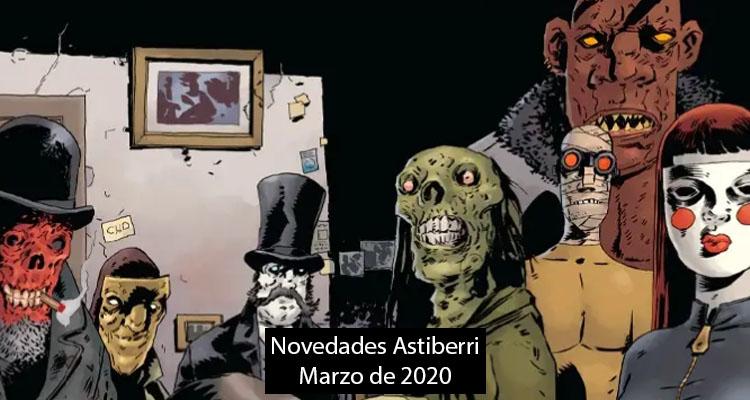 Astiberri: Novedades Marzo 2020