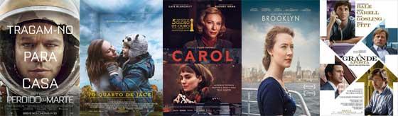 Melhor Roteiro Adaptado - Oscar 2016