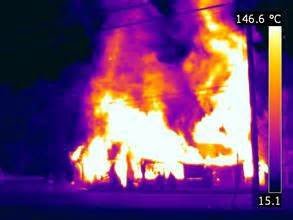 Infrared-fire-image