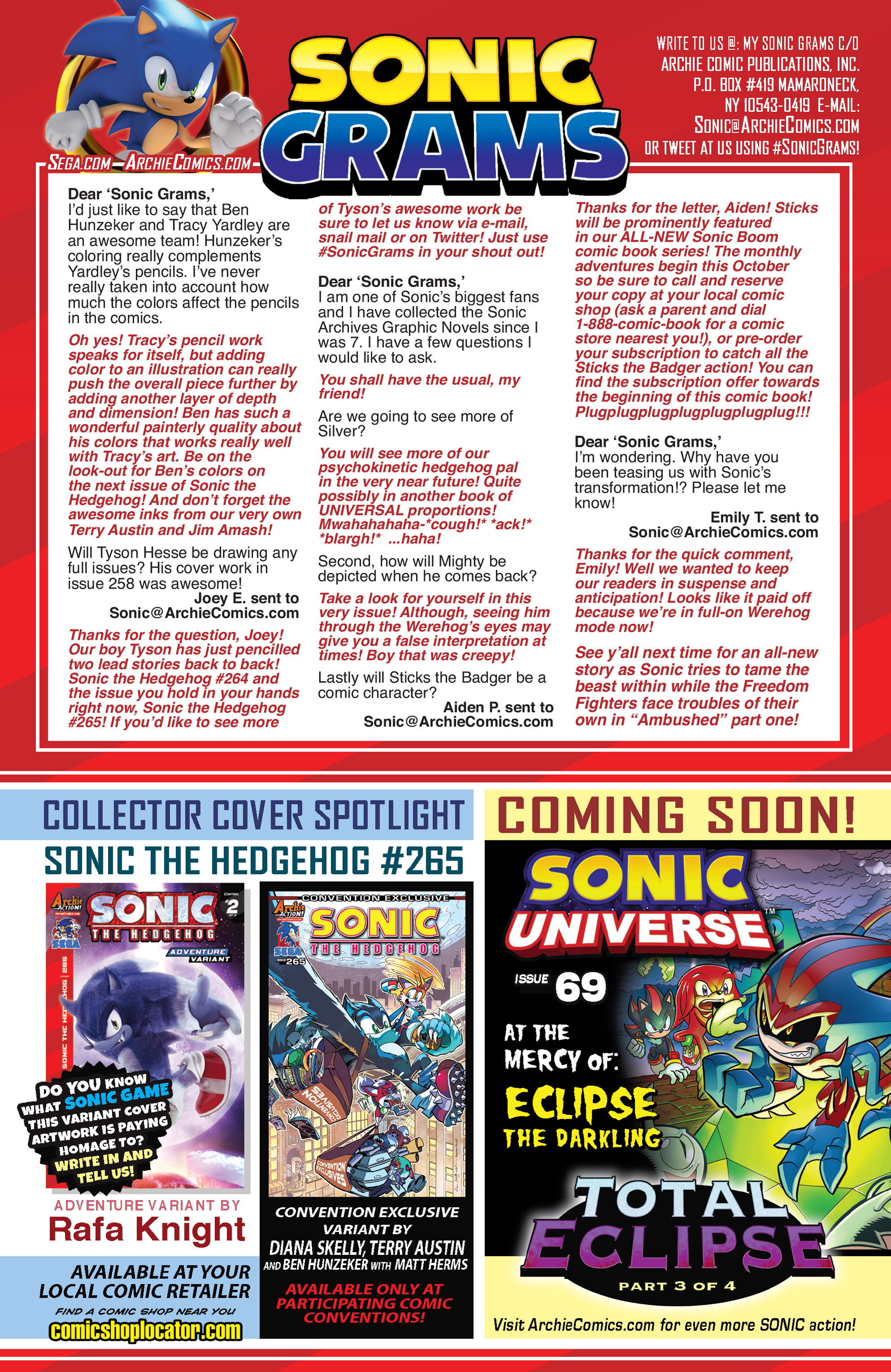 Read online Sonic The Hedgehog comic -  Issue #265 - 23
