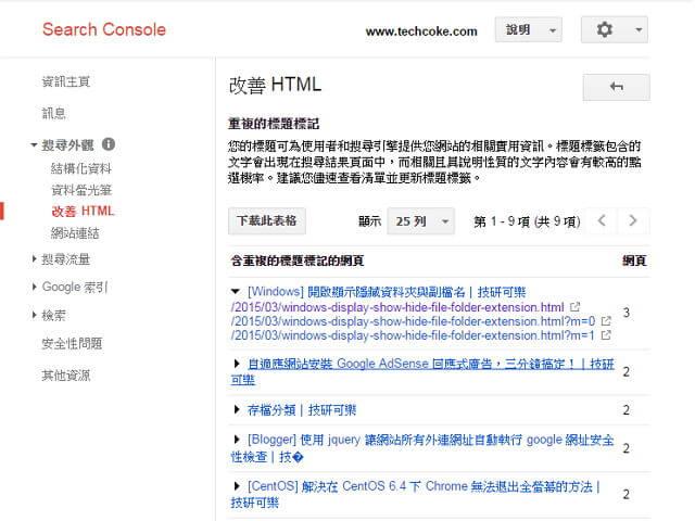 解決 Blogger 標題、描述於 Google 搜尋「?m=*」網址重複_001