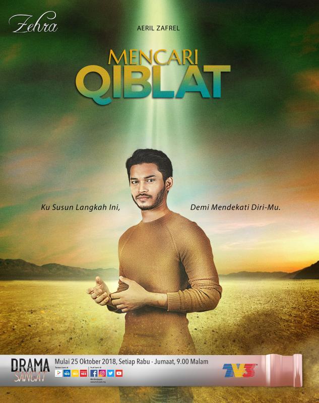 Sinopsis Mencari Qiblat, Zehra TV3 Terbaru Menggantikan Ammar Dan Opie