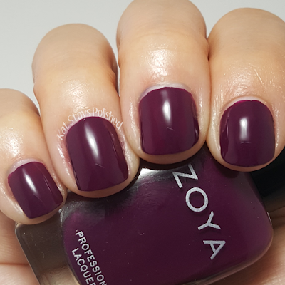 Zoya Urban Grunge Once Coat Creams - Tara | Kat Stays Polished