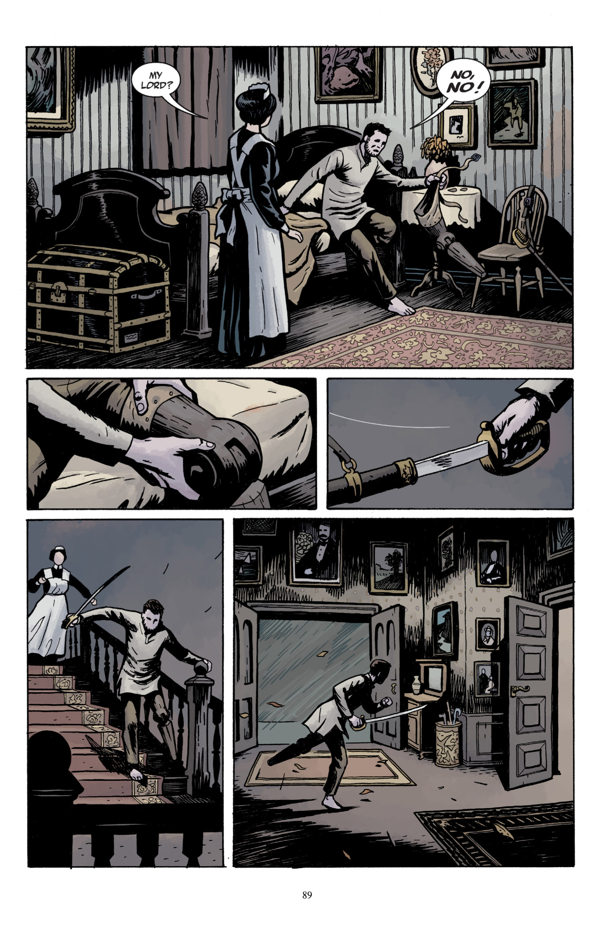 Read online Baltimore: The Plague Ships comic -  Issue # TPB - 91