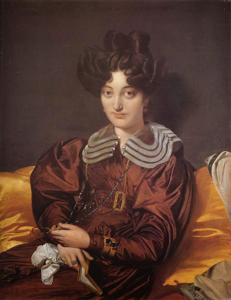 Madame Marie Marcotte - Ingres e suas principas pinturas ~ Neoclassicismo