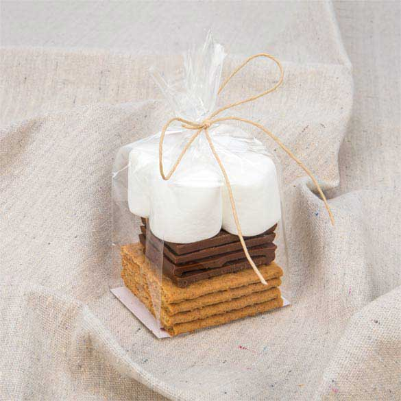Smores Wedding Favors: How To Make A S'mores Kit Wedding Or Party Favor