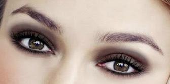 Maquillaje en tonos marrones
