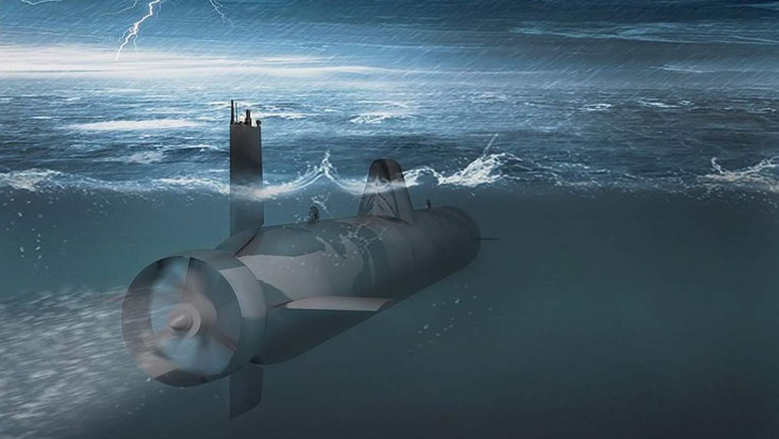 Perkembangan robot bawah laut paling rahasia di Rusia