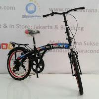 20 triojet folding bike