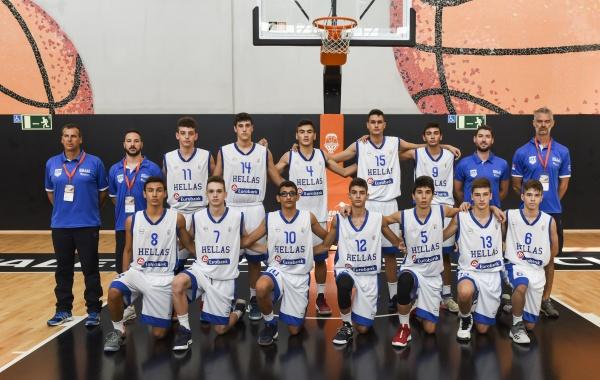 ΕΟΚ | Εθνική Παμπαίδων (U14): Ελλάδα-Ισπανία (Λευκή) 60-87. Το σημερινό πρόγραμμα