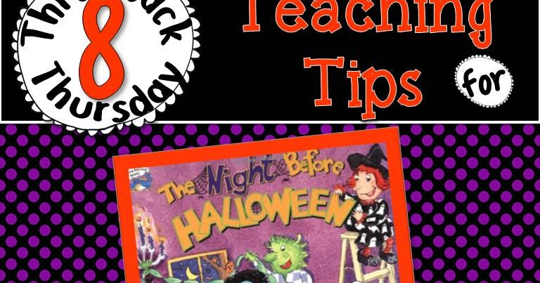 The Picture Book Teacher's Edition: Throwback Thursday - The Night ...