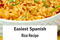 #Recipes - Easiest Spanish Rice Recipe