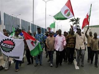 Nigeris Labour congress strike protest