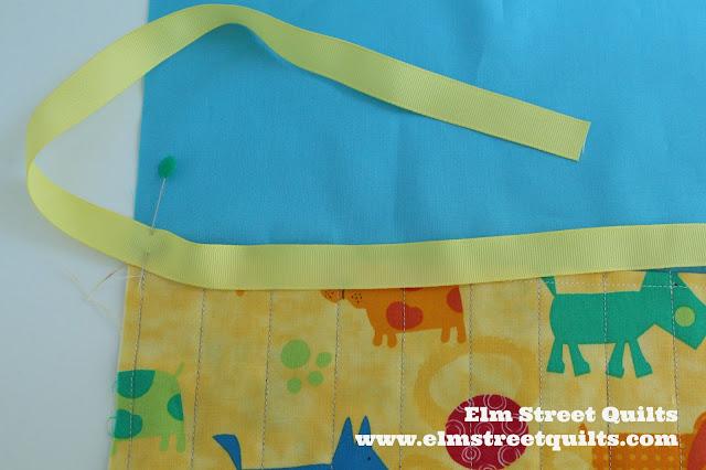 Elm Street Quilts Pencil Roll Tutorial