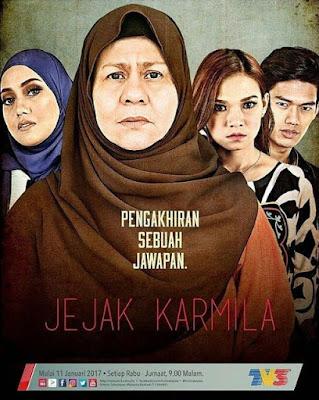 Sinopsis Drama Jejak Karmila TV3 Lakonan Mia Ahmad, Ruhainies