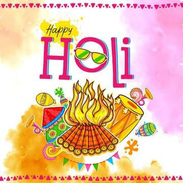 Happy Holi Images 2019 for Whatsapp Status Messages