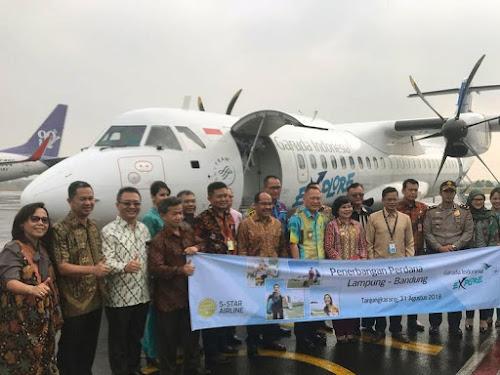 Jadwal Penerbangan Garuda Lampung-Bandung