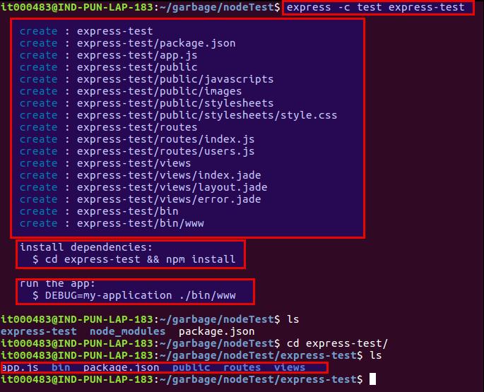 Sachin4Java: Node Js - Web Apps using express