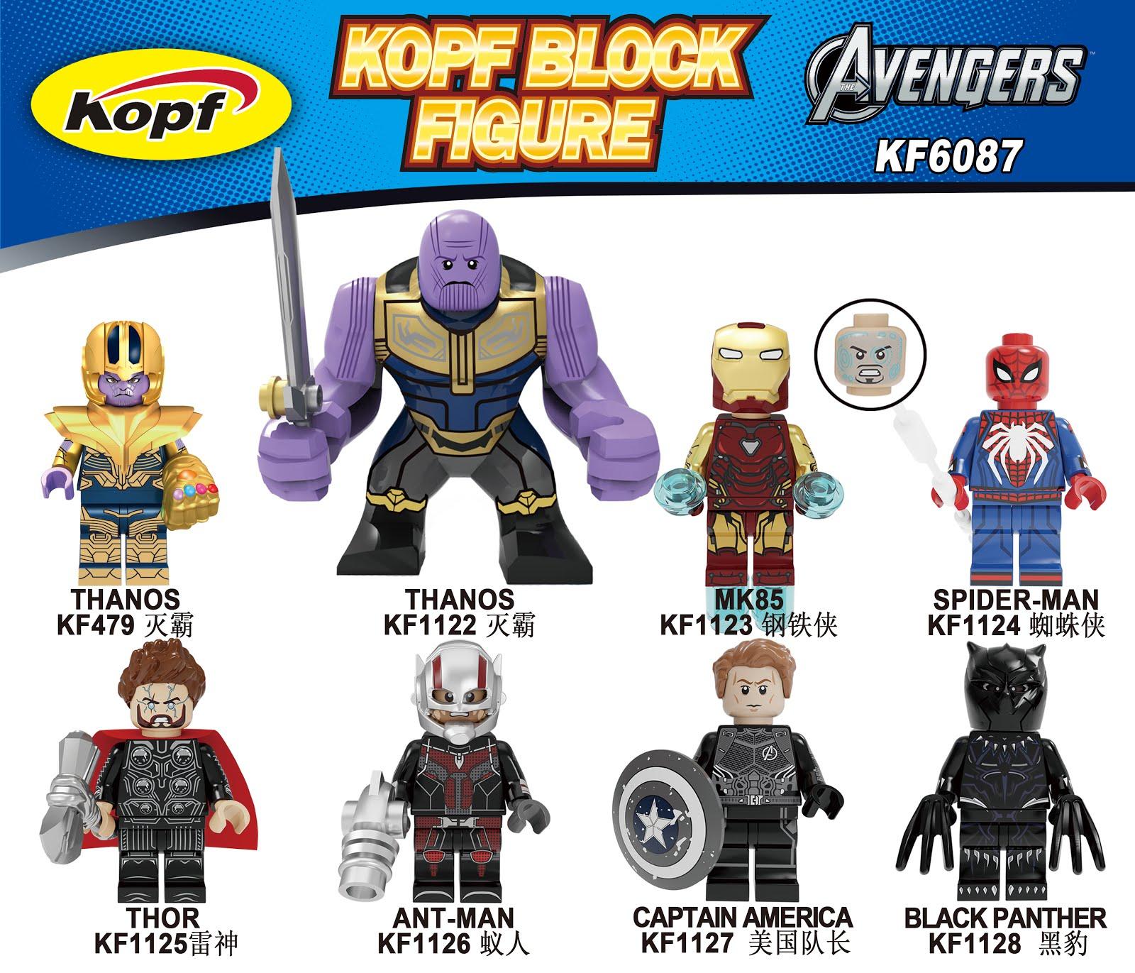 Stan Lee Figs Lego Avengers Mini Figures Main Characters