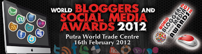 Dunia Info dan Tips di World Bloggers and Social Media Awards 2012