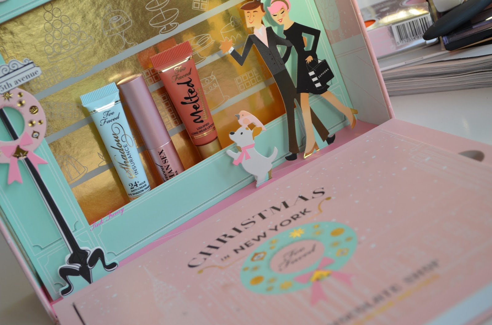Review Too Faced Christmas In New York The Chocolate Shop Pink