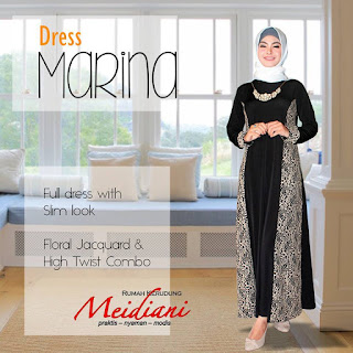 Dress Kondangan Dress Marina