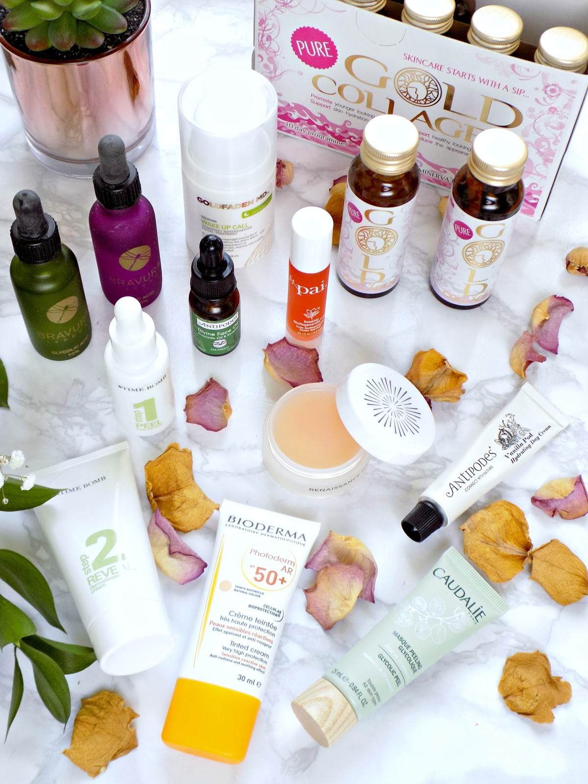 Skincare products to help looking younger