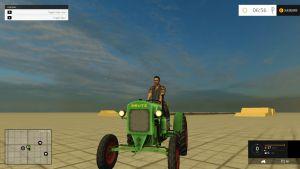 Deutz F 1 414 tractor